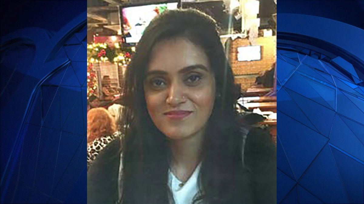 Aroob Mallhi, 27, was reported missing to Vernon police on Wednesday.