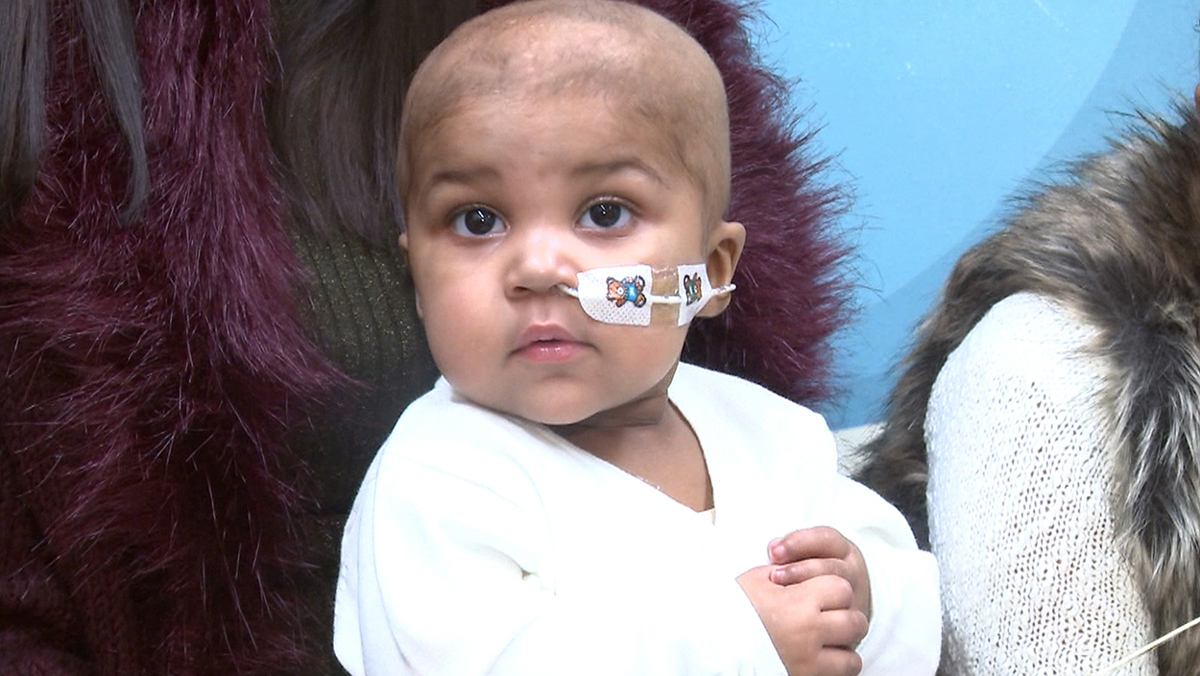 Layla Richards, 1, was treated with gene-edited immune cells for her 'incurable' leukemia.