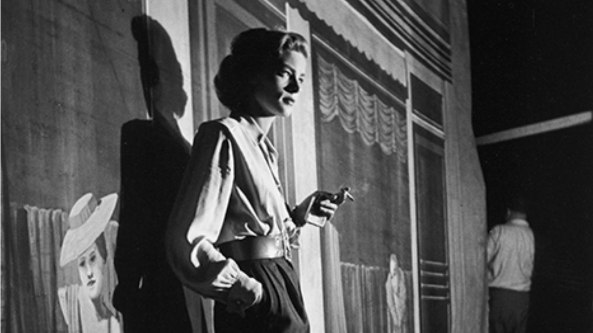 """In 1944 the critic James Agee hailed Lauren Bacall as """"the toughest girl Hollywood has dreamed of in a long, long while."""