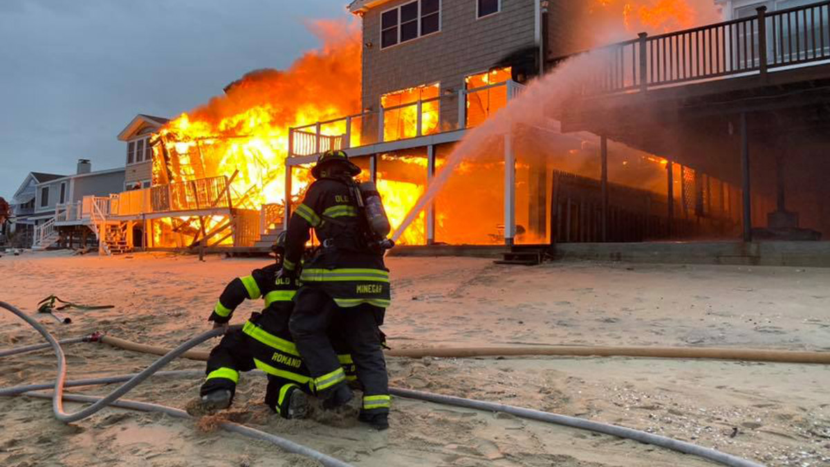 Firefighters Recall Challenges of Fighting Old Saybrook House Fires