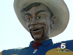 Big Tex was voted