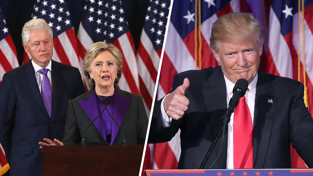 Former President and first lady Bill and Hillary Clinton are set to attend the inauguration of Donald Trump on Jan. 20, 2017, aides told NBC News Tuesday, Jan. 3.