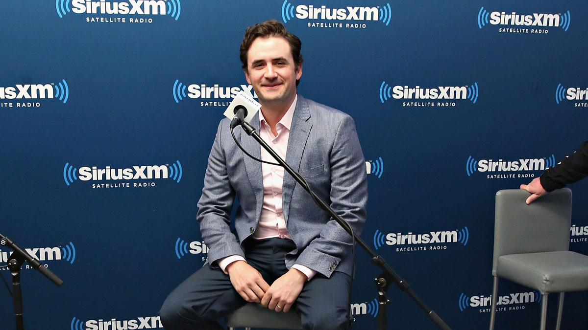 Breitbart Editor in Chief Alex Marlow at the SiriusXM Studio on April 27, 2016 in New York, New York.