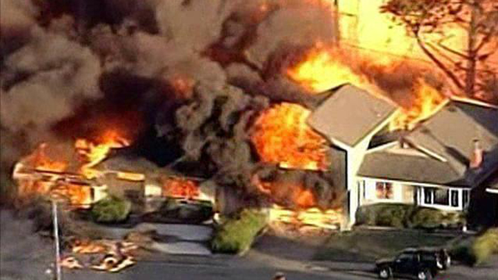 File image of 2010 San Bruno pipeline explosion.