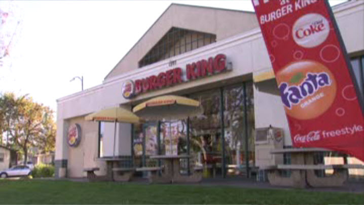 Burger King on Bascom Avenue in San Jose where owner found $100,000 in a backpack on Nov. 26, 2014