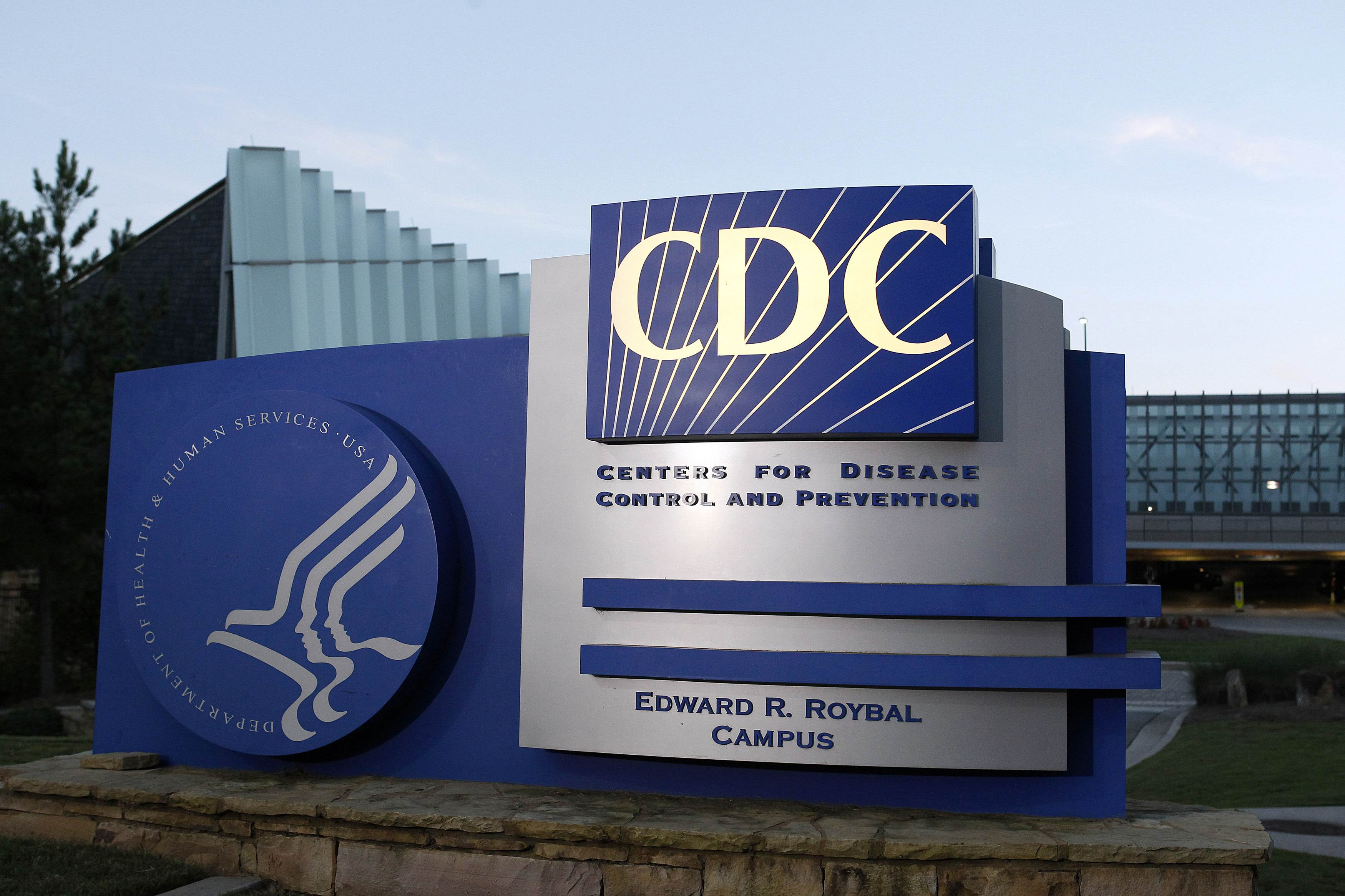 A general view of the Centers for Disease Control and Prevention (CDC) headquarters is seen in Atlanta, Georgia.