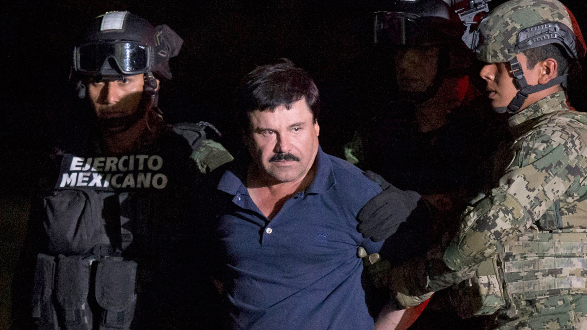 File image of Mexican drug lord Joaquin