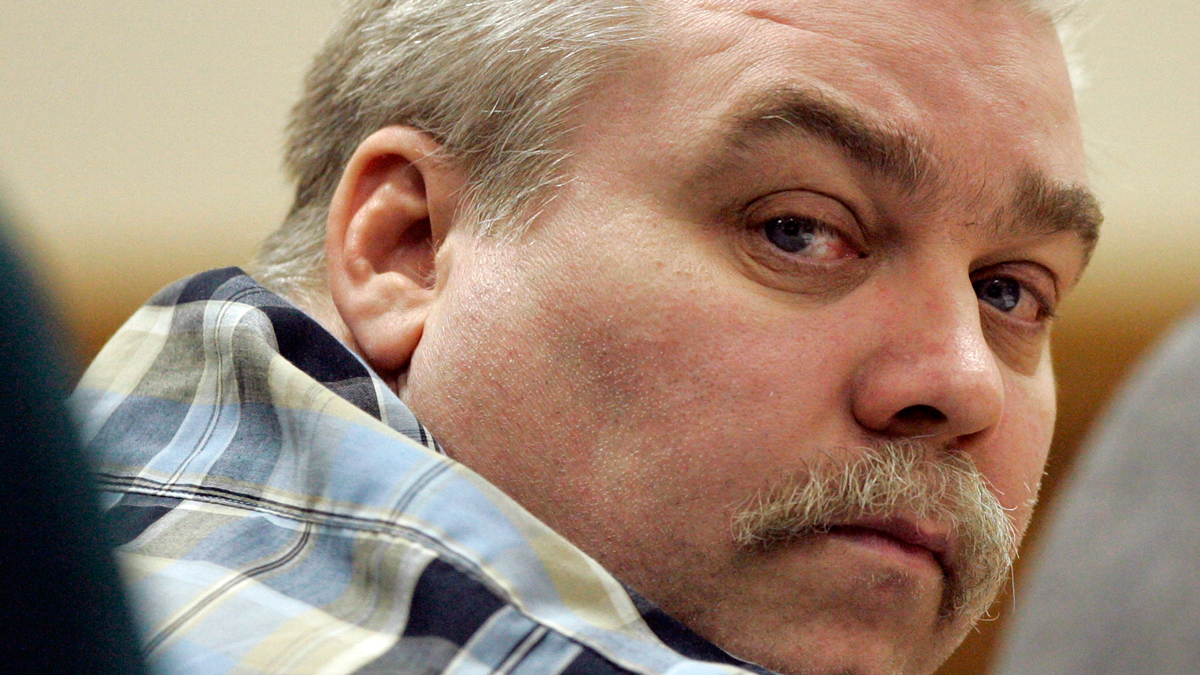 In this March 13, 2007 file photo, Steven Avery listens to testimony in the courtroom at the Calumet County Courthouse in Chilton, Wisconsin.