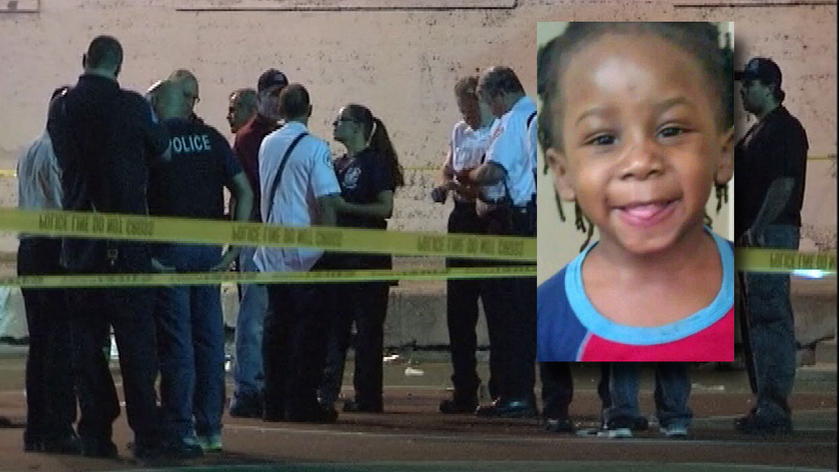 Deonte Howard, 3, was shot in the jaw, family members said.