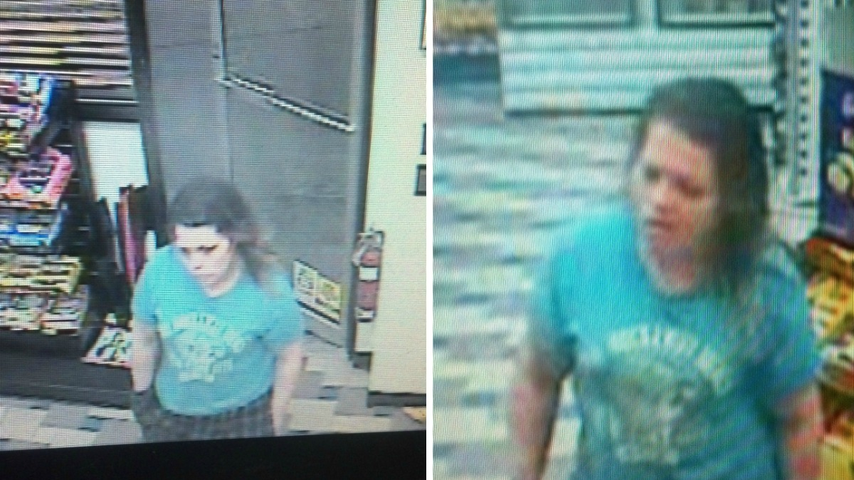 Clinton Police have released these photos of a robbery suspect.
