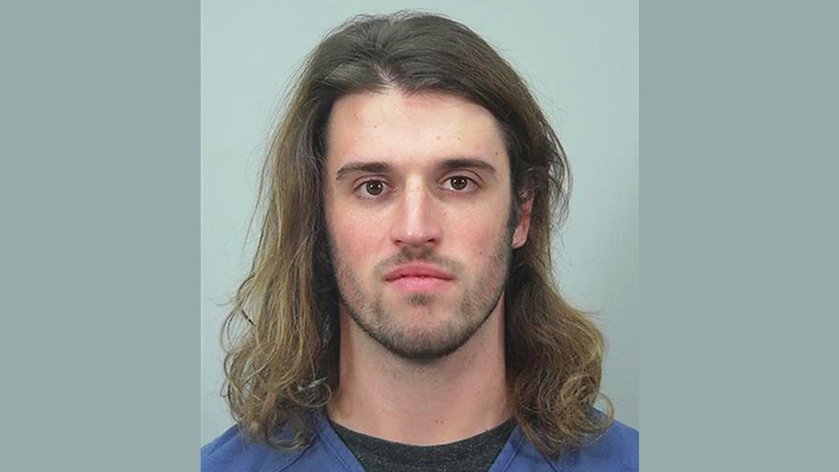 This undated photo provided by the Dane County Sheriff's Office in Madison, Wisconsin, shows Alec Cook, a University of Wisconsin student charged with sexually assaulting and choking a woman on Oct. 12, 2016.