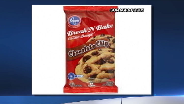 ConAgra Foods in cooperation with the FDA recalled 16-ounce packages of chocolate chip cookie dough due to a risk for those with peanut allergies.