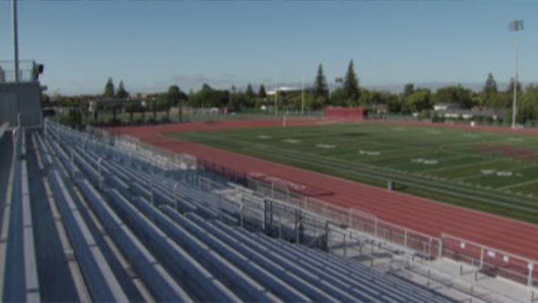 It takes 100,000 gallons of water to spray fields at Cupertino High School.