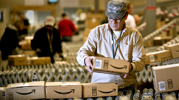 Amazon opening a fullfillment center in Windsor that will create more than 300 full time jobs.