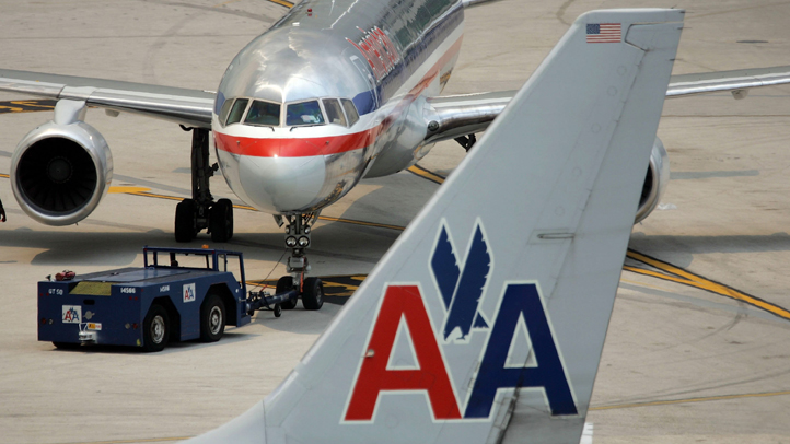 American Airlines planes are pictured on the tarmac at the Miami International Airport in this file photo.