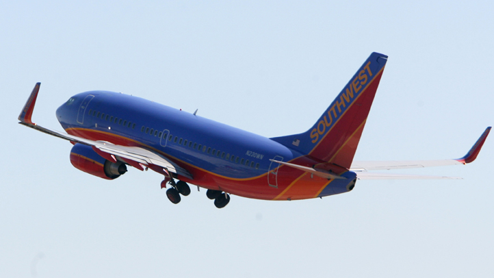 File image of a Southwest plane.
