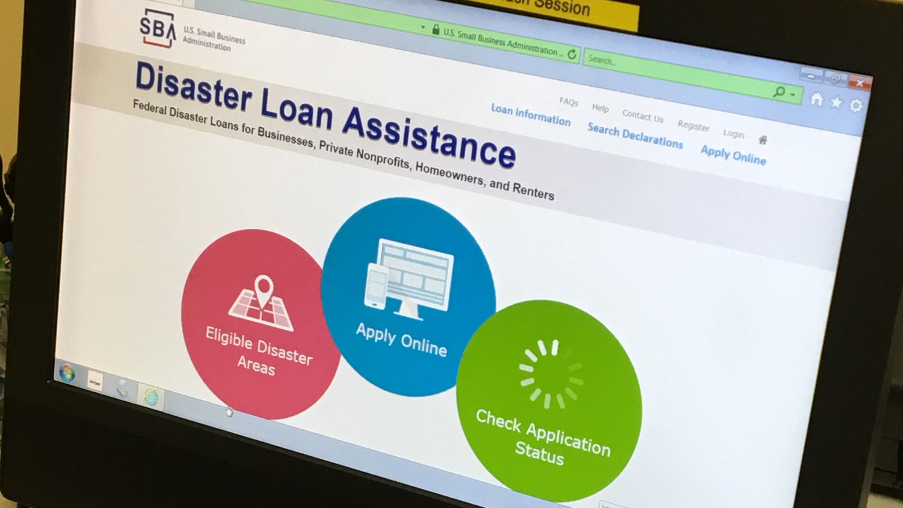 Second Disaster Loan Outreach Center Opens in Hamden
