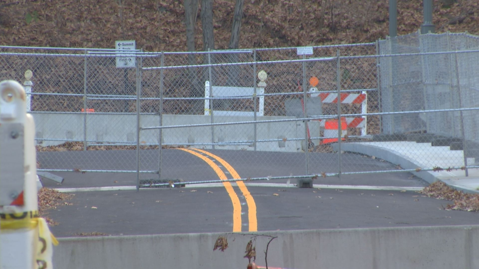 East Rock Bridge in New Haven could reopen in early 2015.