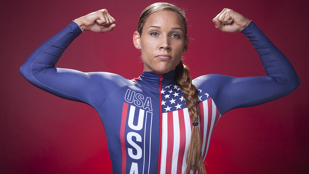 United States Olympic Winter Games athlete Lolo Jones appeared on the