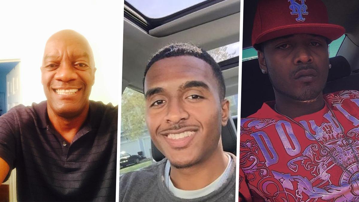 Irvin Noak, left, is the retired NYPD officer who shot his sons, Aaron Noak, and Irvin Noak III.