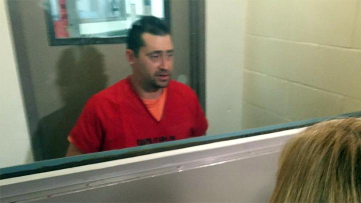 Steve Hlebo, 39, of Los Altos, California, denied killing his co-worker Kyle Myrick during a jailhouse interview Jan. 25, 2016.