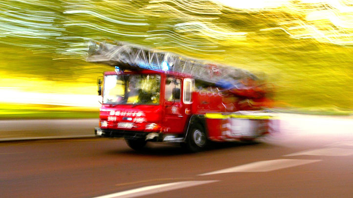 Firefighters are investigating a fire at an apartment complex in Norwich.