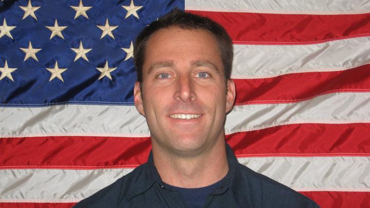 Arcadia firefighter Mike Herdman.