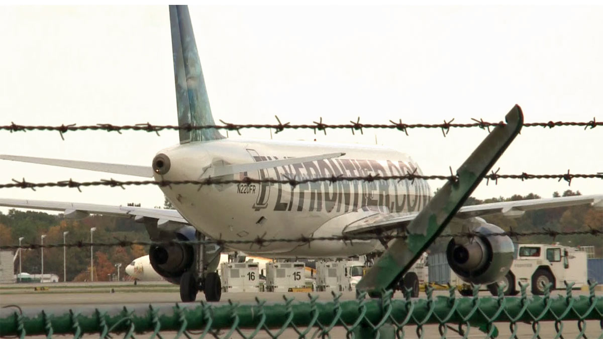 A Frontier Airlines A320 is being taken out of service after a passenger who flew between Cleveland and Dallas tested positive for the Ebola virus.