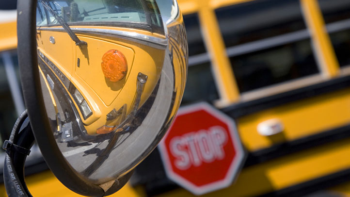 Delaware State Police are investigating a school bus crash on Route 40 at Route one in Bear, Del.