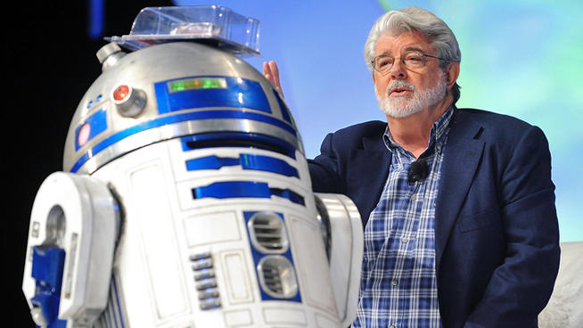 Star Wars director George Lucas.
