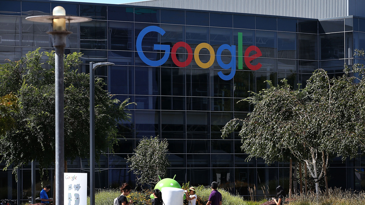 This September 2, 2015, file photo shows Google headquarters in Mountain View, California. A memo reportedly written by a Google engineer on the company's diversity practices has drawn controversy in debates around gender bias in the tech industry.