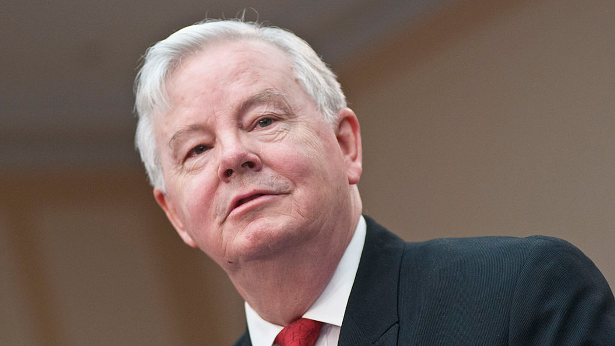 File - Texas Congressman Joe Barton speaks during a Congressional Briefing on Protecting Children and Teen Online Privacy at the Rayburn House Office Building on March 7, 2012 in Washington, DC.