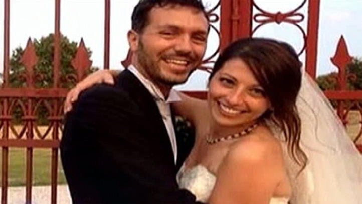 Alice Gruppioni, picture here with her husband Christian Casadei, was killed Saturday Aug. 3, 2013 when a driver crashed into a crowd on the Venice Beach Boardwalk.