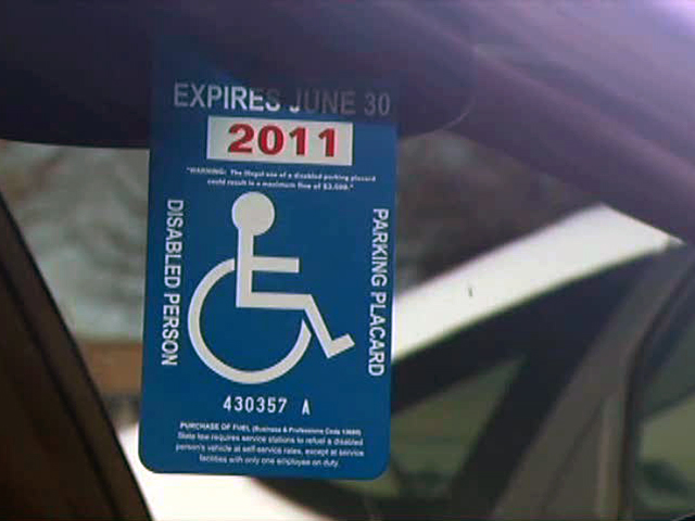 Plano police say some drivers make fake placards to avoid being ticketed.
