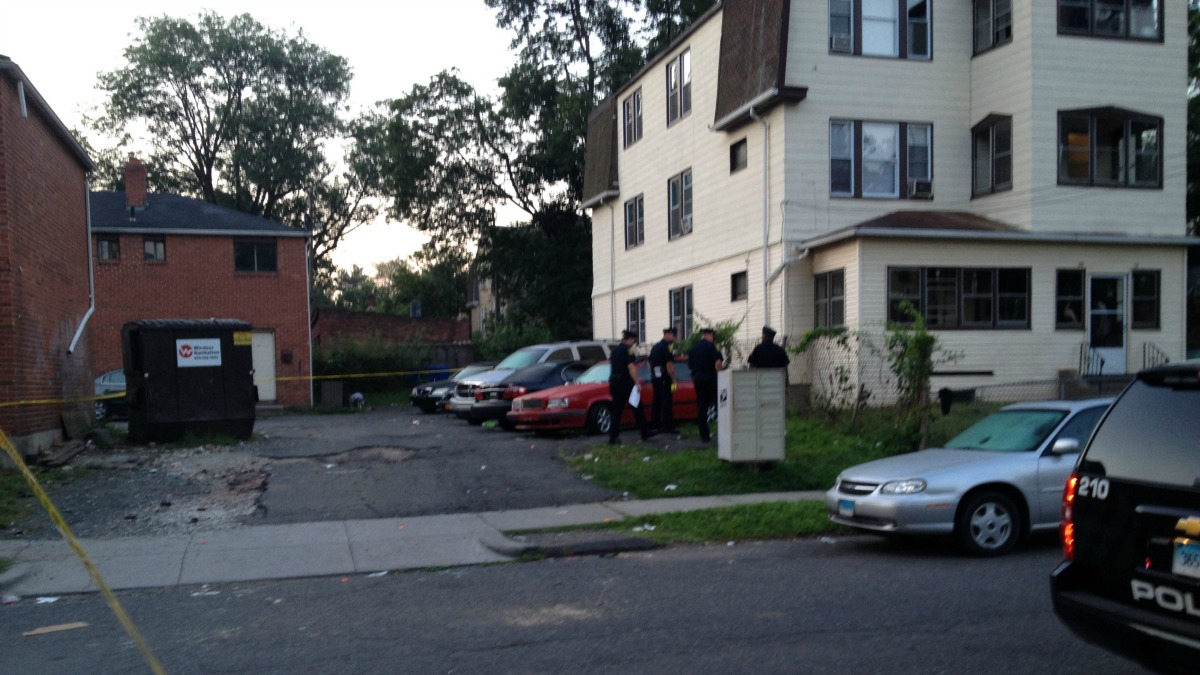 Police are investigating a fatal shooting on Auburn Street in Hartford.