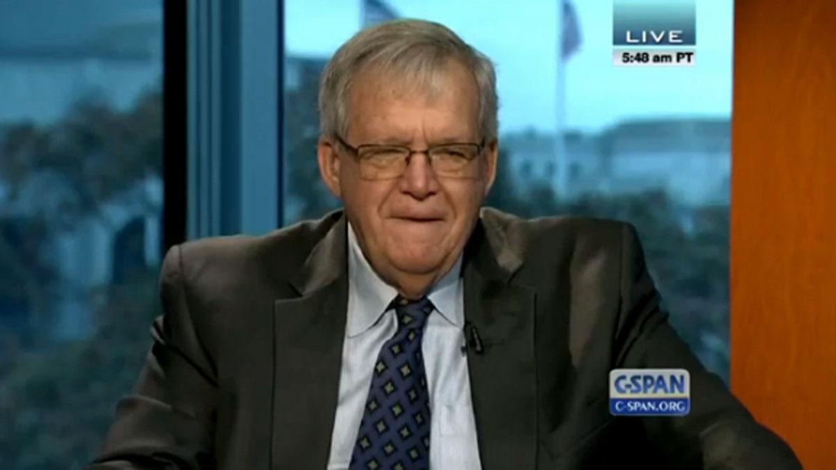 Former House Speaker Dennis Hastert seen on a Nov. 13, 2014 episode of C-Span's