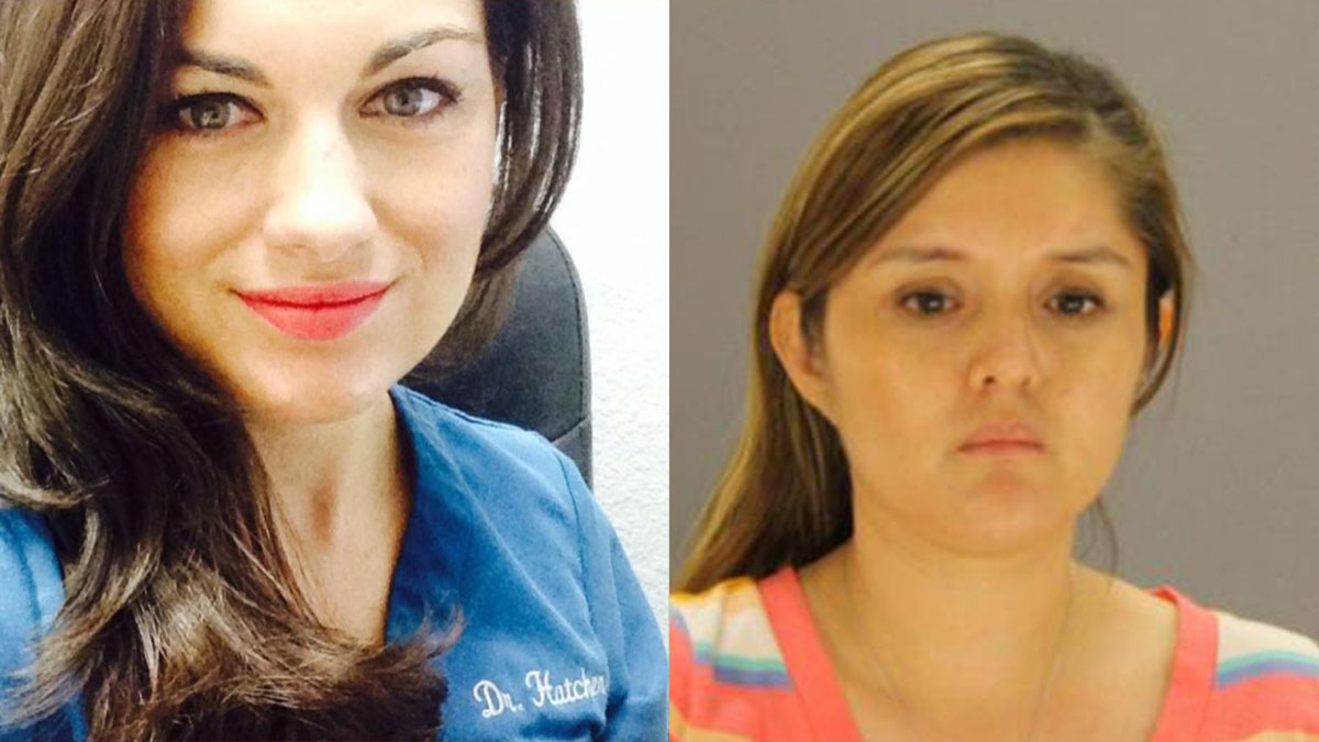 Brenda Delgado (right) has been indicted with capital murder in the slaying of Dallas dentist Kendra Hatcher (left), who was found dead in the parking garage of her apartment complex.