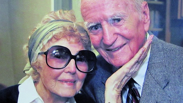 Helen and Les Brown of Long Beach were married 75 years. They died one day apart in July 2013. Photo courtesy Ashleigh Ruhl/ Grunion Gazette.