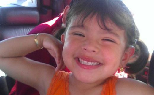 Cynthia Jimenez died Sunday, May 11, 2014, when her family's Honda was crushed by a delivery van. She would have turned 5 years old Monday.