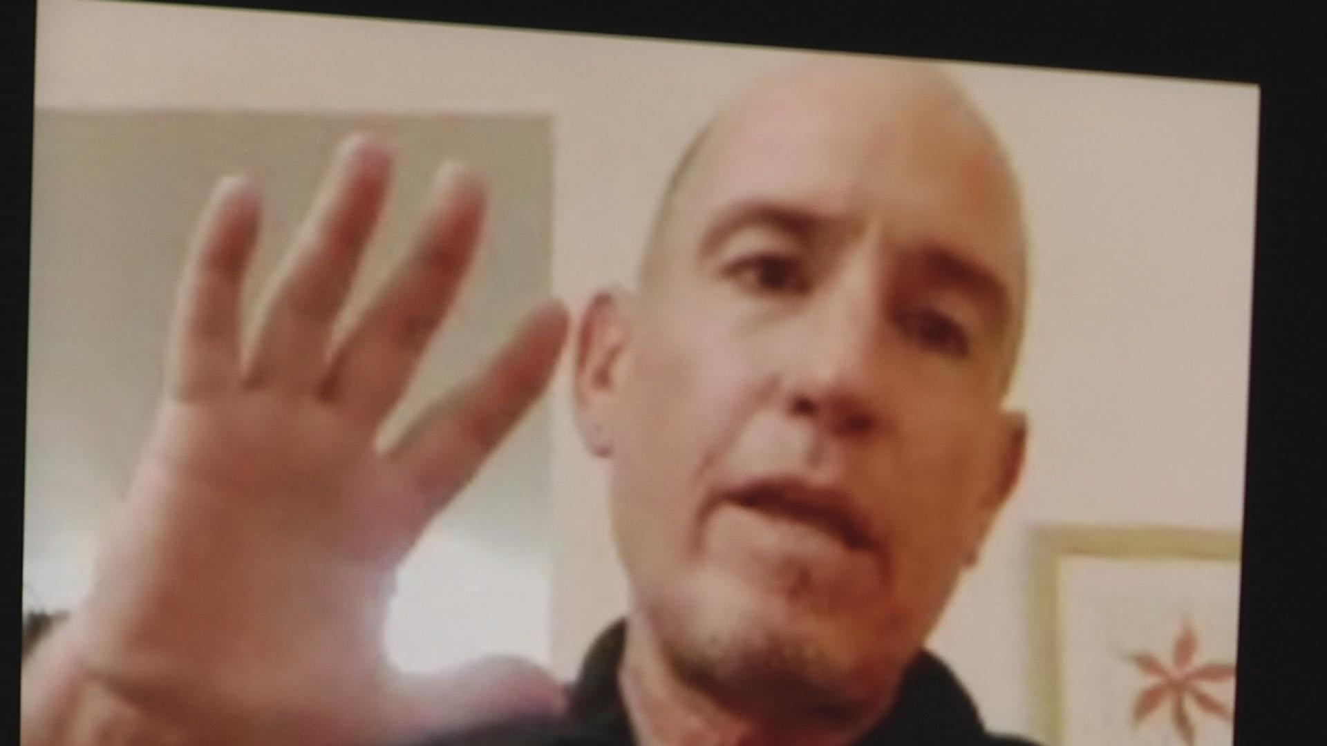 Marty Hoenish, a retired San Jose firefighter, survived a knife attack in London.