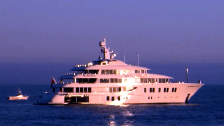 The Invictus, a mega-yacht. Courtesy: Mr. Malibu Productions