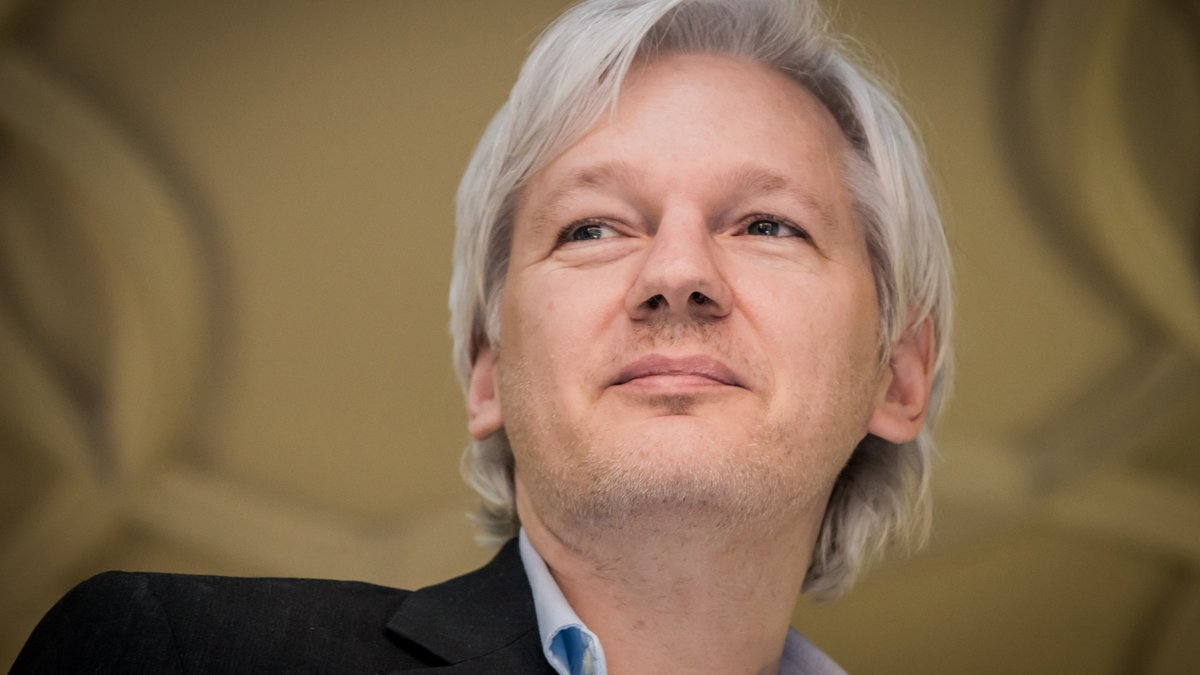 Wikileaks' founder Julian Assange.