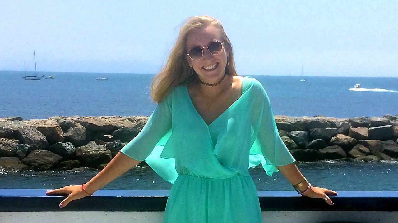 UCLA student Andrea Del Vesco in an undated photo posted to her Facebook account. Her body was found on Monday, Sept. 21, 2015, after a fire at her Westwood apartment.