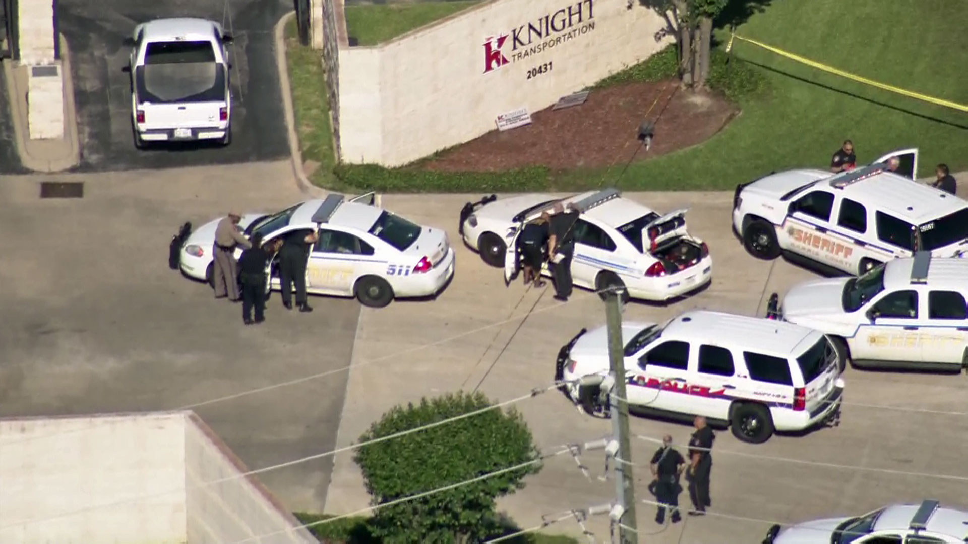 Marion Guy Williams, 65, returned to Knight Transportation's Katy Service Center on Tuesday morning, where he shot and killed 35-year-old employee Mike Dawid, according to the Harris County Sheriff's Office.