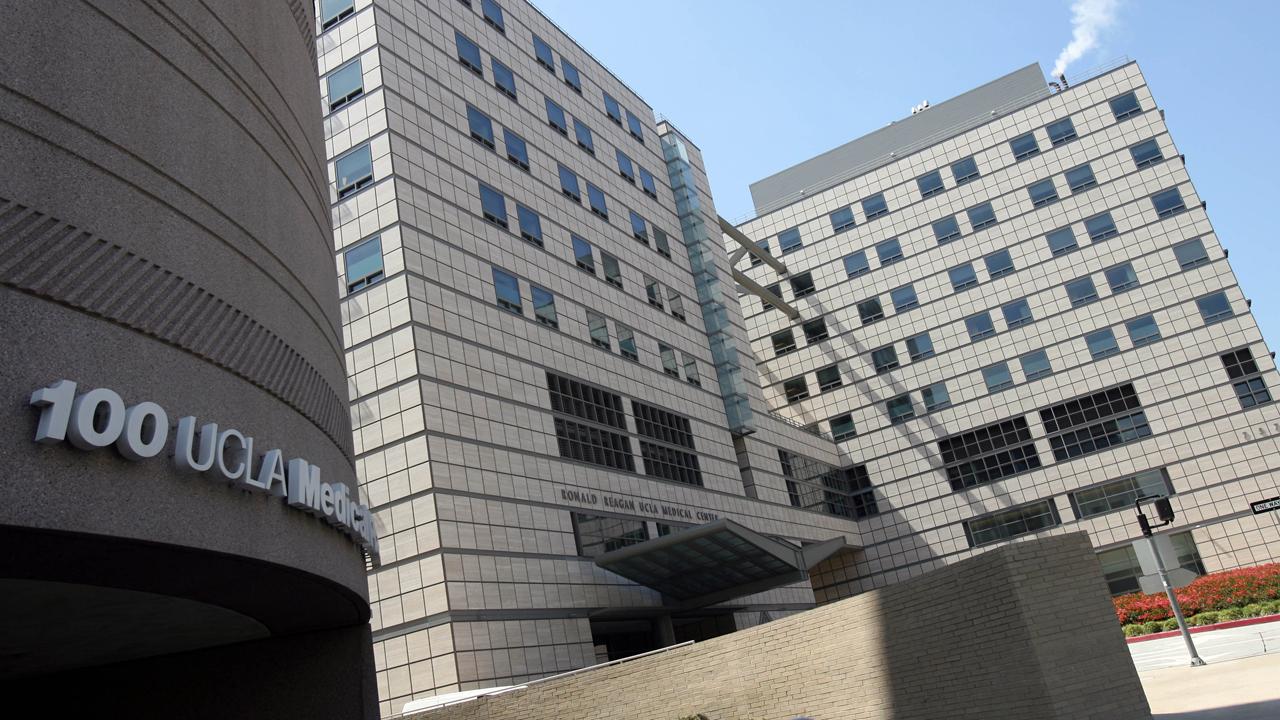 File photo of Ronald Reagan UCLA Medical Center.