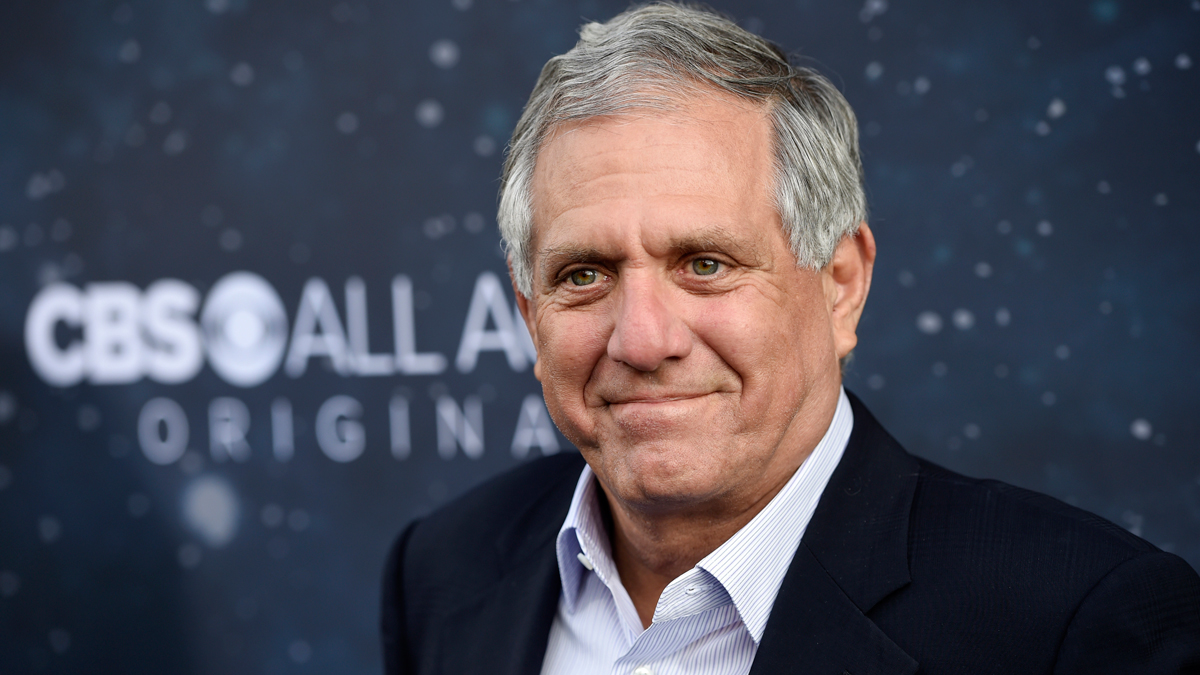 In this Sept. 19, 2017, file photo, Les Moonves, chairman and CEO of CBS Corporation, poses at the premiere of the new television series