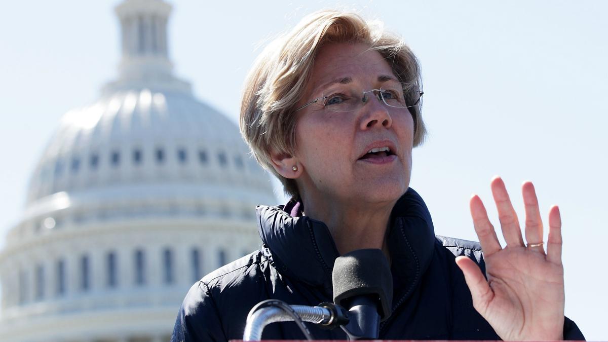 U.S. Sen. Elizabeth Warren.