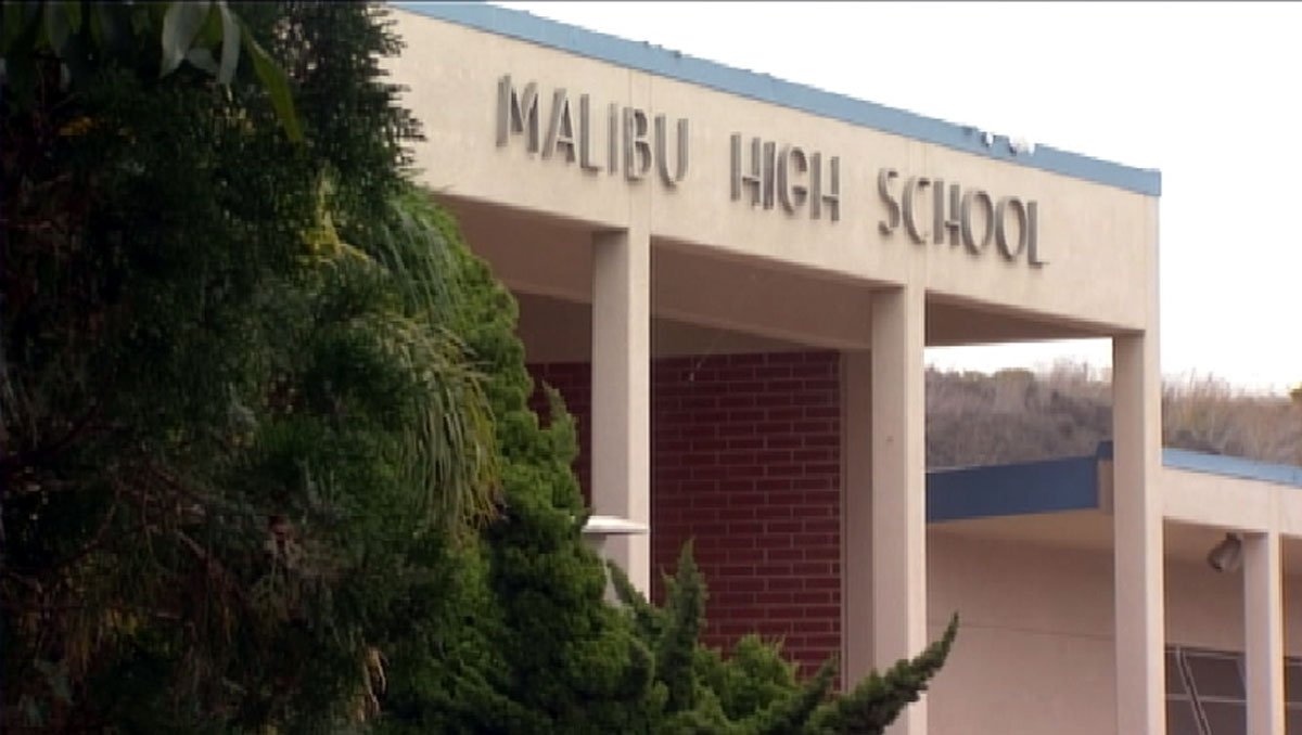 Administrators at Malibu High School discovered a