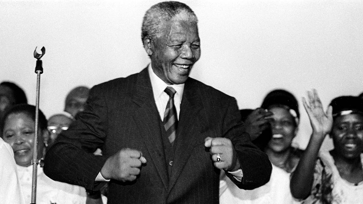 Nelson Mandela, South Africa's iconic former president whose lifelong struggle against apartheid helped break the country's system of racial discrimination, died Dec. 5, 2013, at the age of 95.