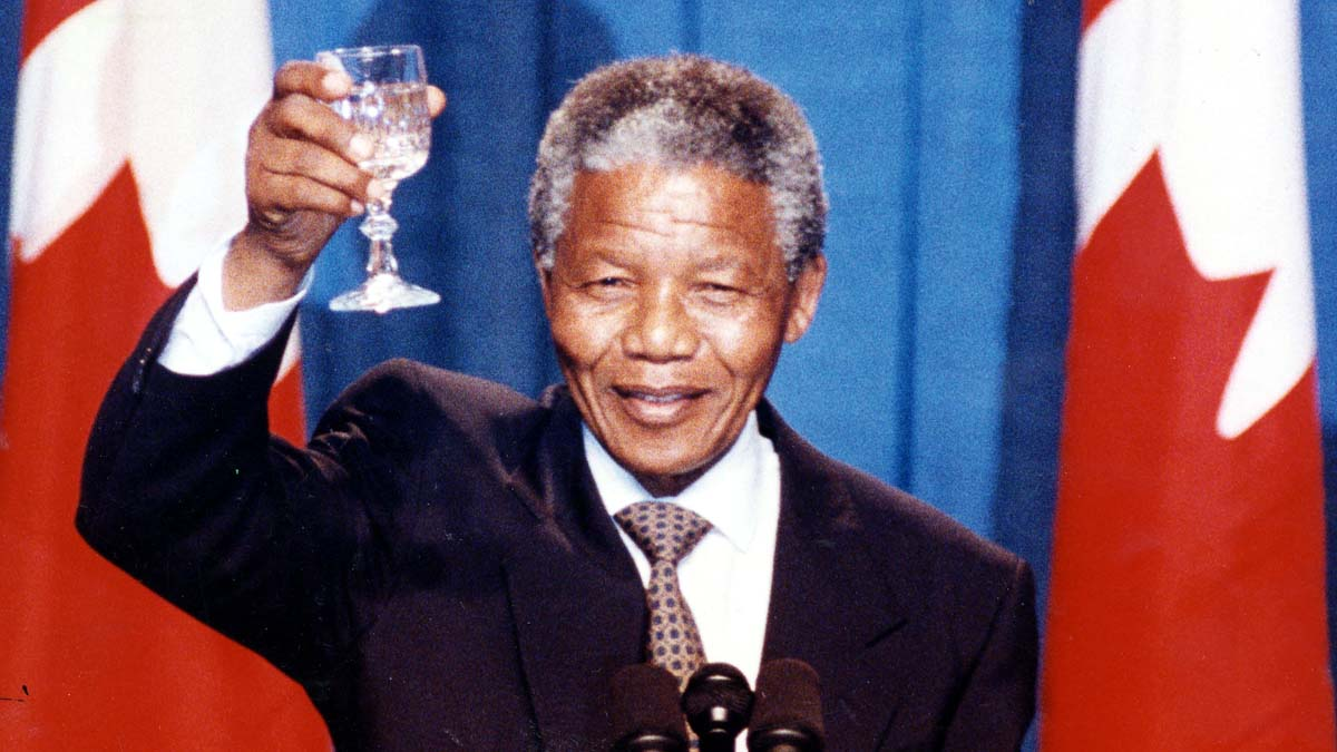 Nelson Mandela, South Africa's iconic former president whose lifelong struggle against apartheid helped break the country's system of racial discrimination, died Thursday at the age of 95. South African President Jacob Zuma announced the anti-apartheid crusader's death at a somber press conference Thursday.